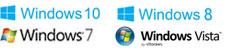 Compatível com Microsoft