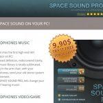 SpaceSoundPro anúncios instantâneo