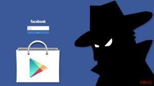 Malware ladrão de dados do Facebook detetado na Google Play Store