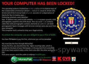 FBI aconselha a permanecer longe do vírus de Internet que o imita