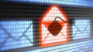 Estatísticas preocupantes: a maioria dos e-mails spam transportam ransomware