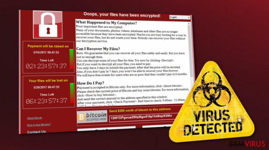WannaCry está vivo. Milhares de utilizadores em perigo.