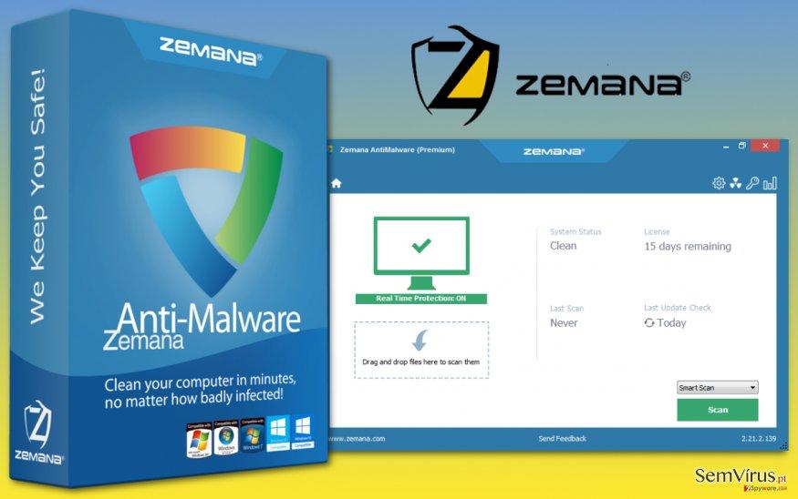 Zemana anti-malware image