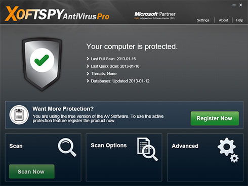 XoftSpySE Anti Spyware instantâneo