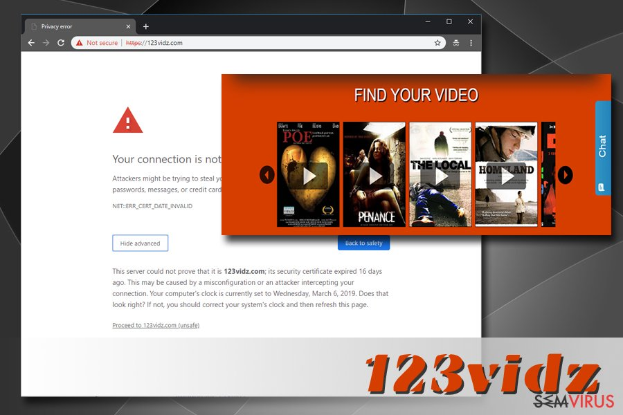 Adware 123vidz