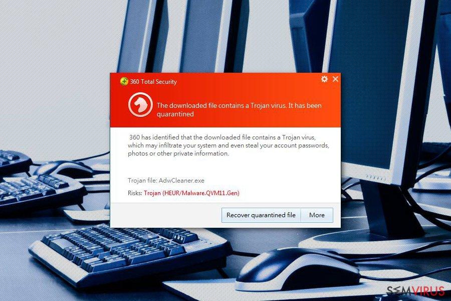 Remover 360 Total Security vírus (Guia de remoção fácil