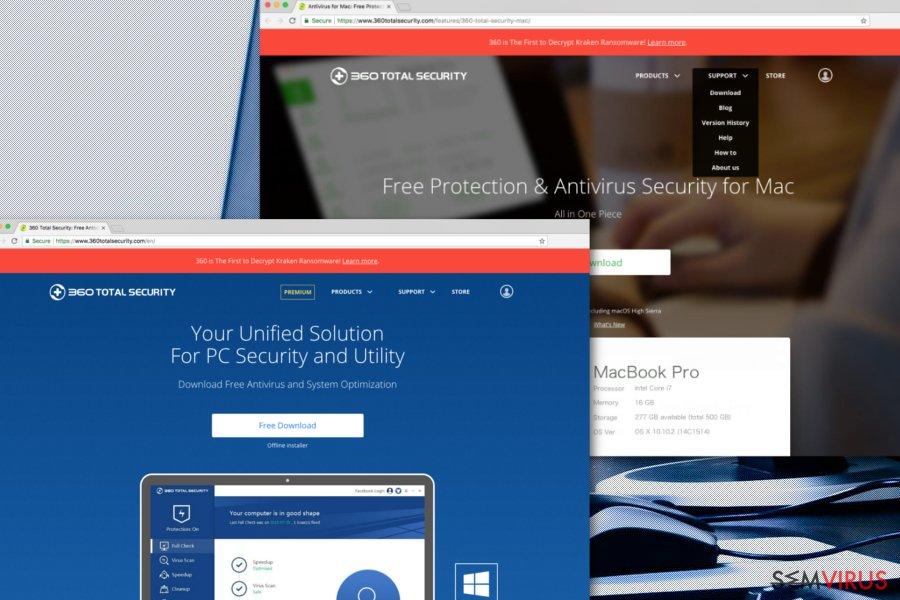 360 Total Security instantâneo