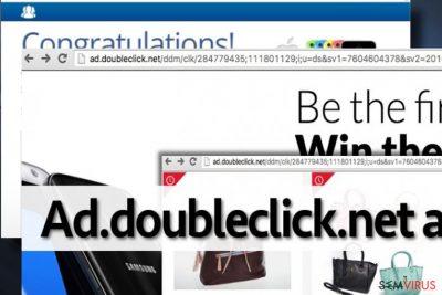 Anúncios que exibem o Ad.doubleclick.net