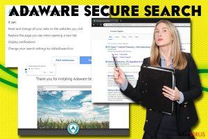 Adaware secure search