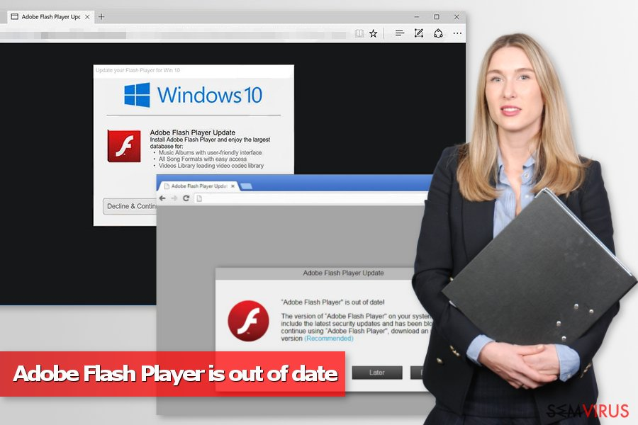 "Vírus ""O Adobe Flash Player está desatualizado"""