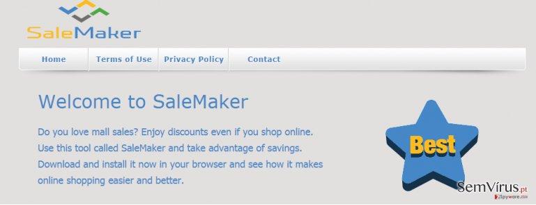 Anúncios por SaleMaker instantâneo