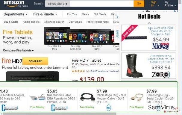 Anúncios de Shoppy-Up instantâneo