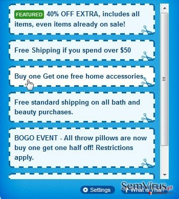 Anúncios por Shoppy instantâneo