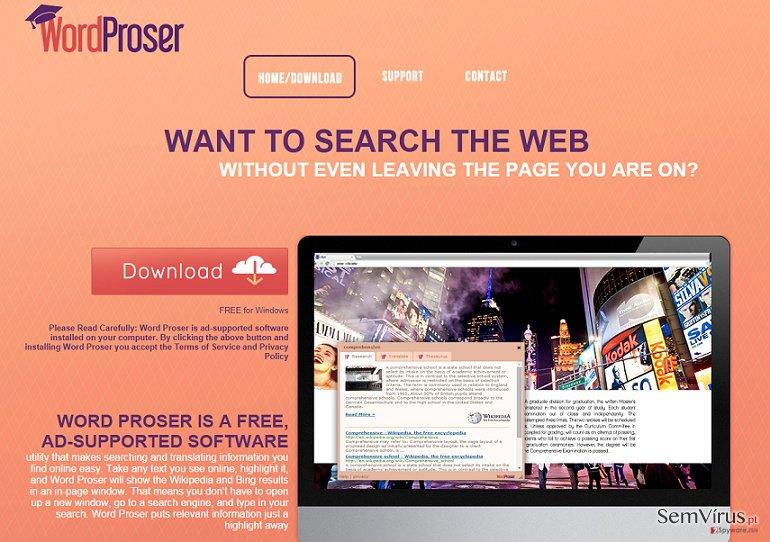 Anúncios por WordProser instantâneo