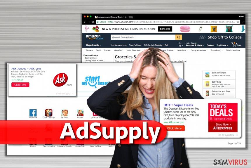 Anúncios de Adsupply instantâneo