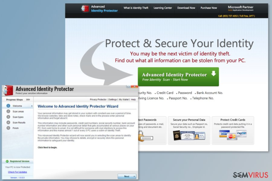 Programa Advanced Identity Protector