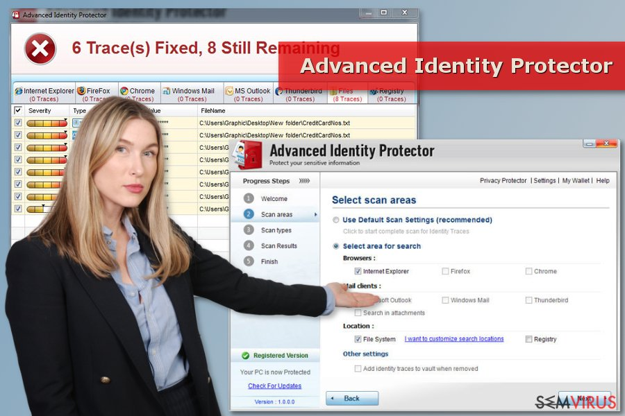 Scan do Advanced Identity Protector