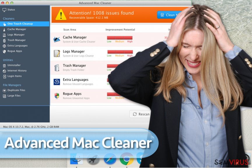 Vírus Advanced Mac Cleaner