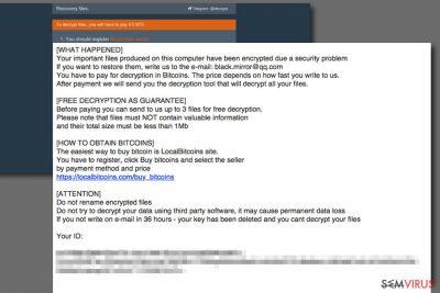 Ransomware Aleta