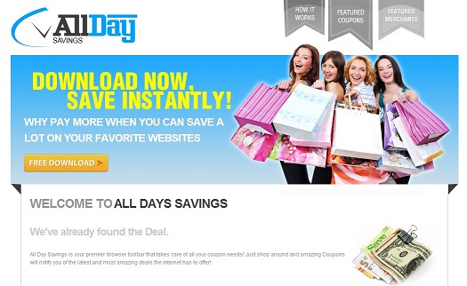 All Day Savings instantâneo