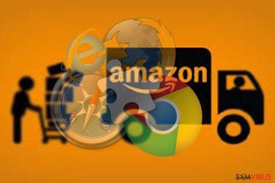 A imagem exibindo o Amazon Assistant