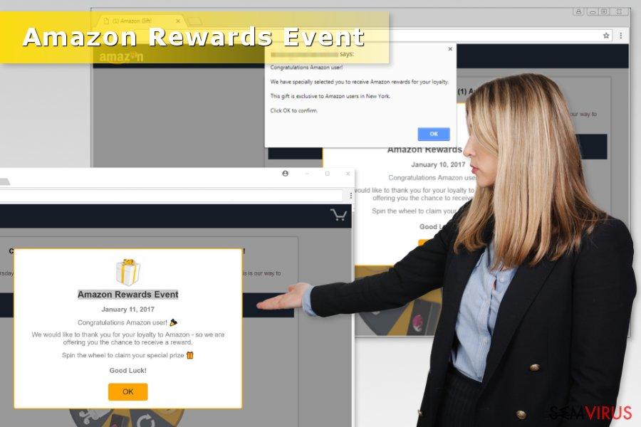 "Fraude ""Amazon Rewards Event"""