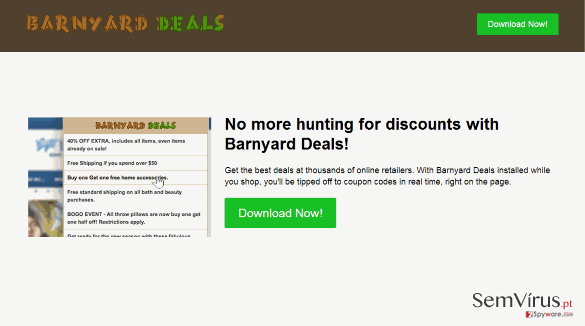 Barnyard Deals virus instantâneo