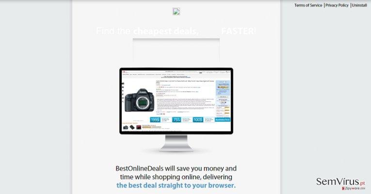 Anúncios de Best Online Deals instantâneo