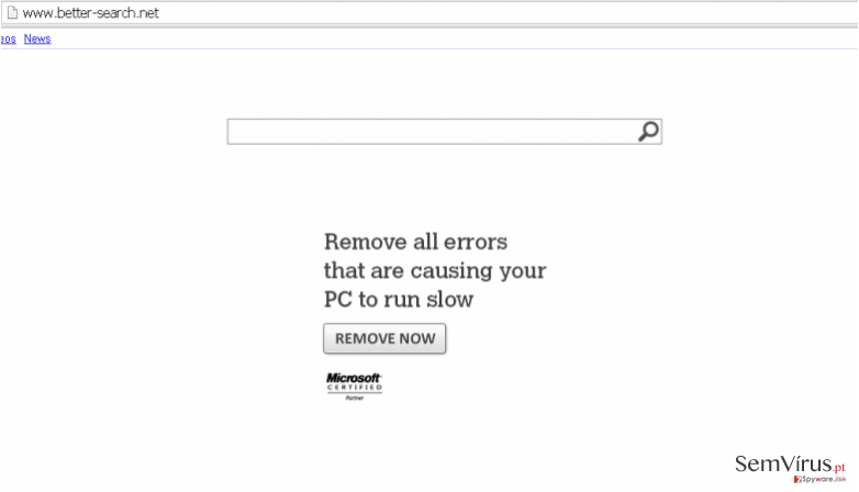 Better-Search.net virus instantâneo