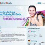 Better Deals anúncios instantâneo