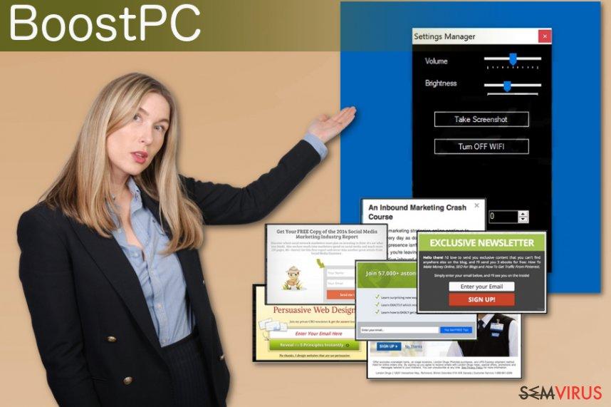 BoostPC adware