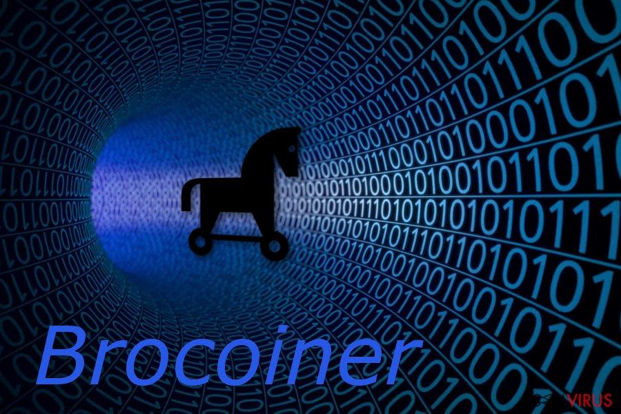 Brocoiner Trojan horse