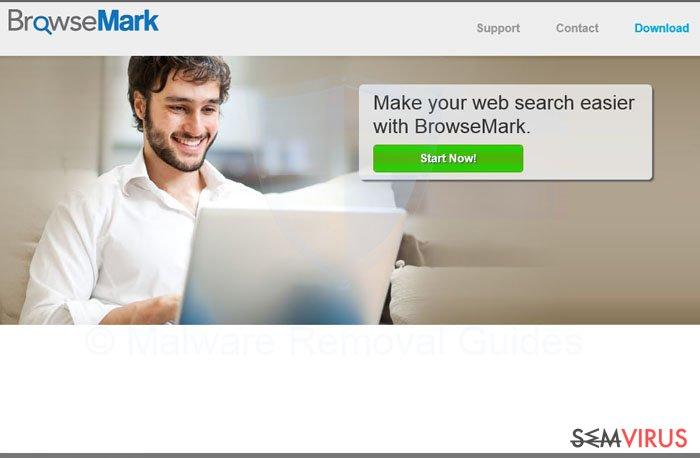 BrowseMark virus instantâneo