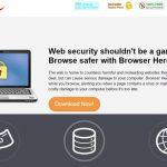 Browser Hero adware instantâneo