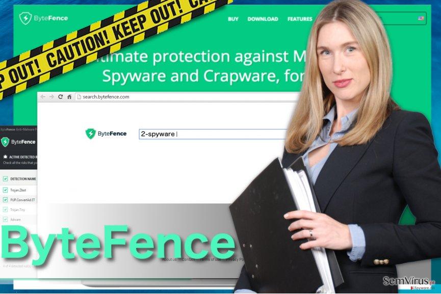 ByteFence redirect instantâneo