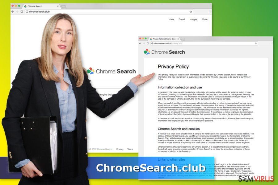 Vírus ChromeSearch.club