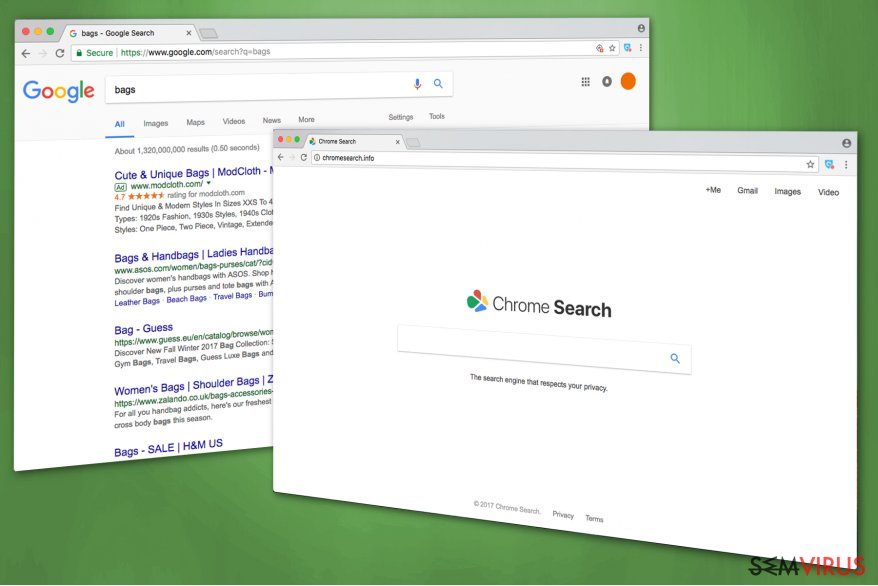 Imagem do Chromesearch.info