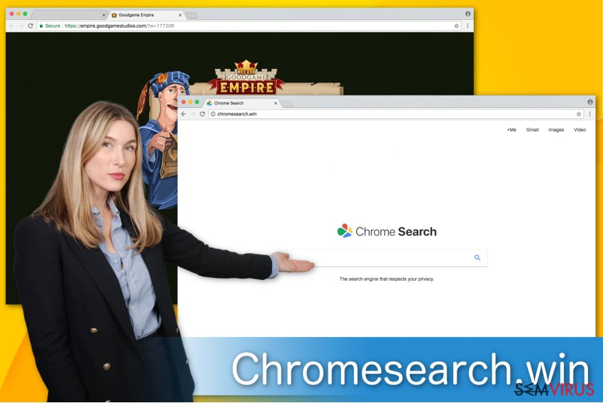 Imagem do Chromesearch.win