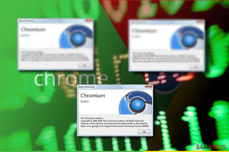 Imagem exibindo o Chromium