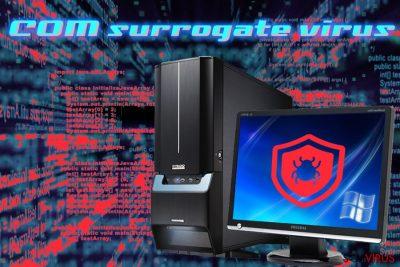 Infeção do vírus COM surrogate
