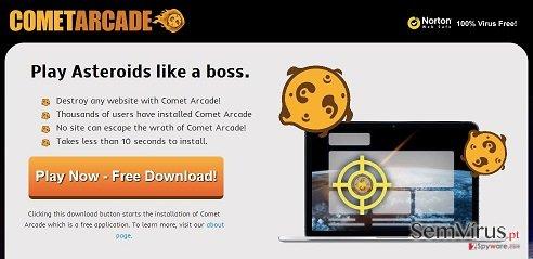 Comet Arcade virus instantâneo