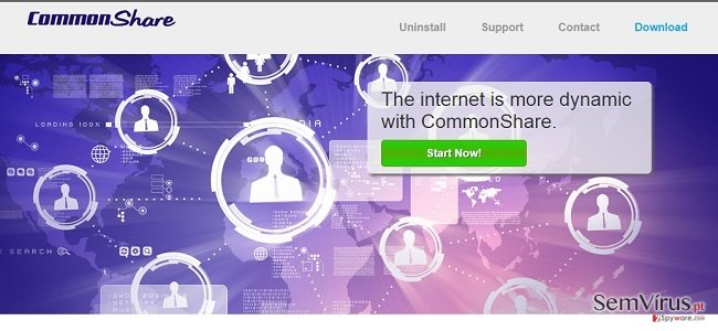 CommonShare ads and CommonShare deals