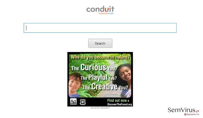Storage.conduit.com redirect instantâneo