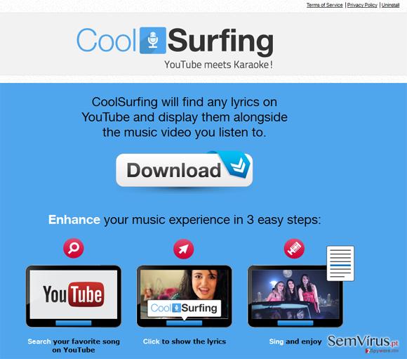 CoolSurfing instantâneo