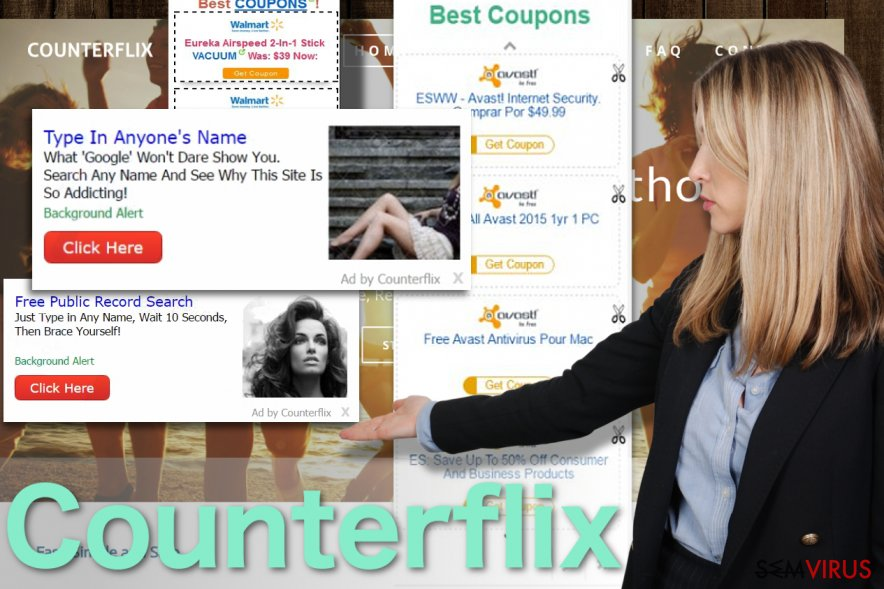 Imagem dos anúncios do Counterflix