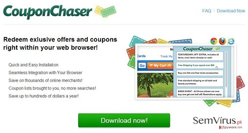 Coupon Chaser virus instantâneo