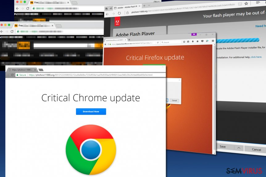 Malware Critical Chrome Update