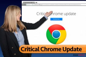 Vírus Critical Chrome Update