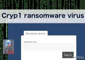 Cryp1 ransomware virus