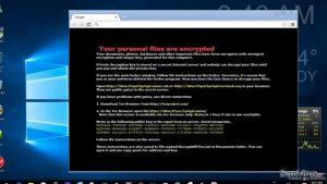 Vírus ransomware CTB-Faker